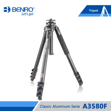 BENRO A3580F Aluminum Tripod Leg Common Help Tripods For Canon Nikon Sony Mini Digital camera four Part,Max loading 15kg