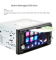 2 DIN Digital Touch Screen Car DVD Player Car DVD PC Player Bluetooth Radio Double Din