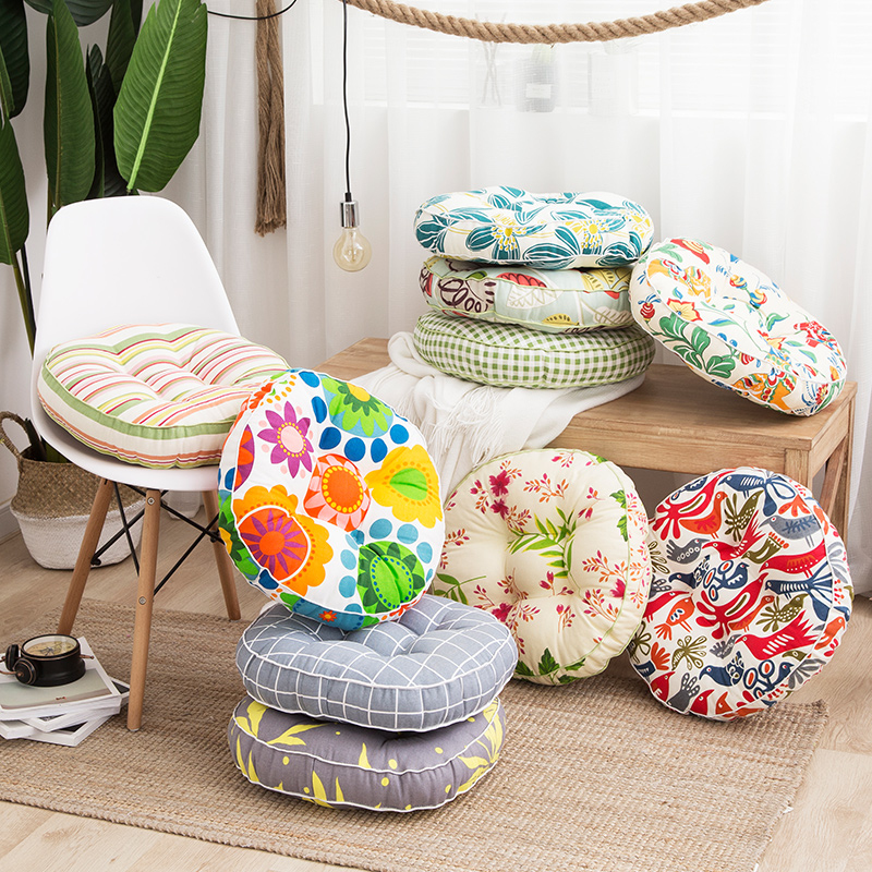 Thick Sitting Cushion For Baby Adult Portable Pouf For Dinning Hemorrhoid Bean Bag Chair For Relax Infantil Puff Asiento 40*10cm