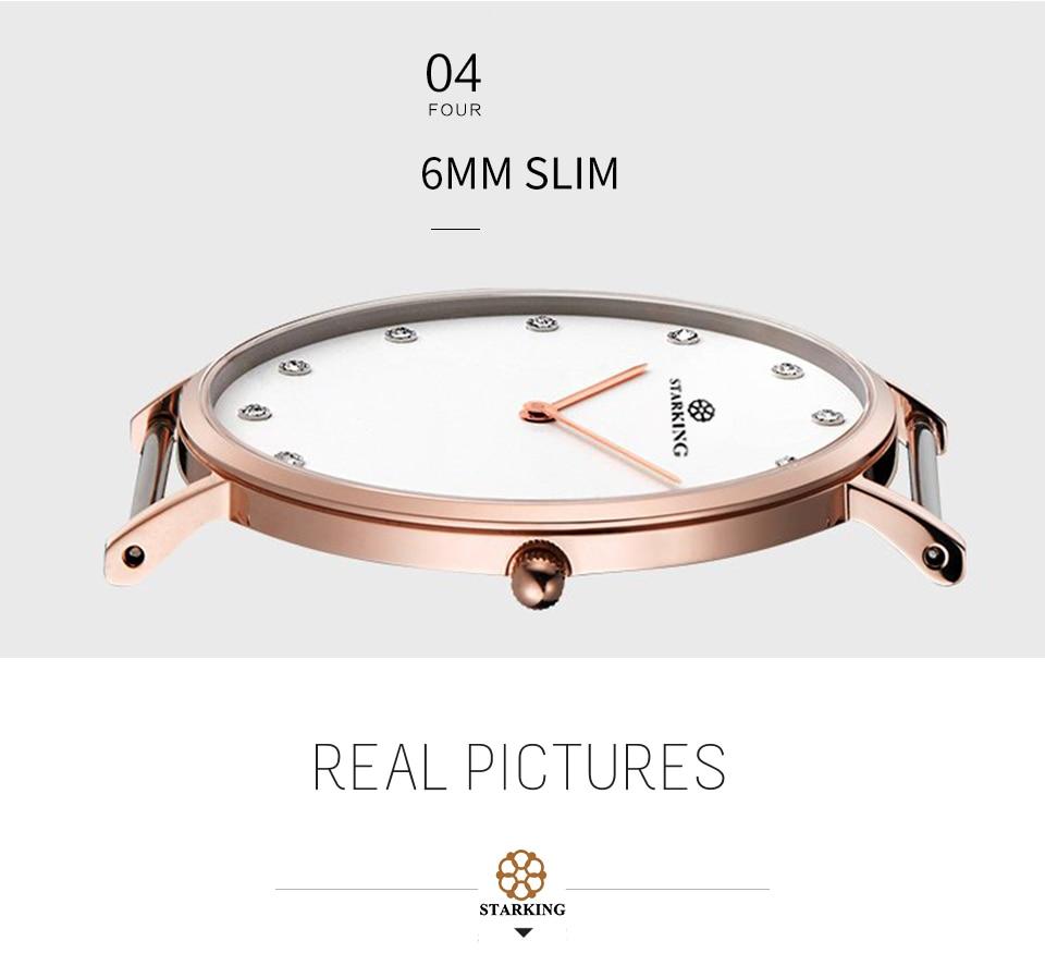 Fino Estilo Simples Relógios de Pulso de Couro hodinky