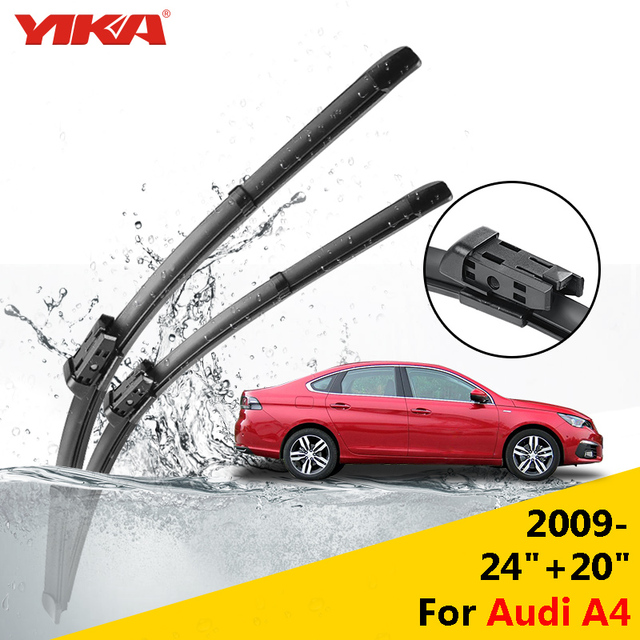 YIKA For Audi A From Onwards Windshield Wiper Blades - Audi a4 windshield wipers