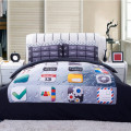 High quality Bedding Set 4PCS 3d phone keypad Print queen comforter Bedding Sets Duvet Cover Bed Sheet Pillow Case Home textile