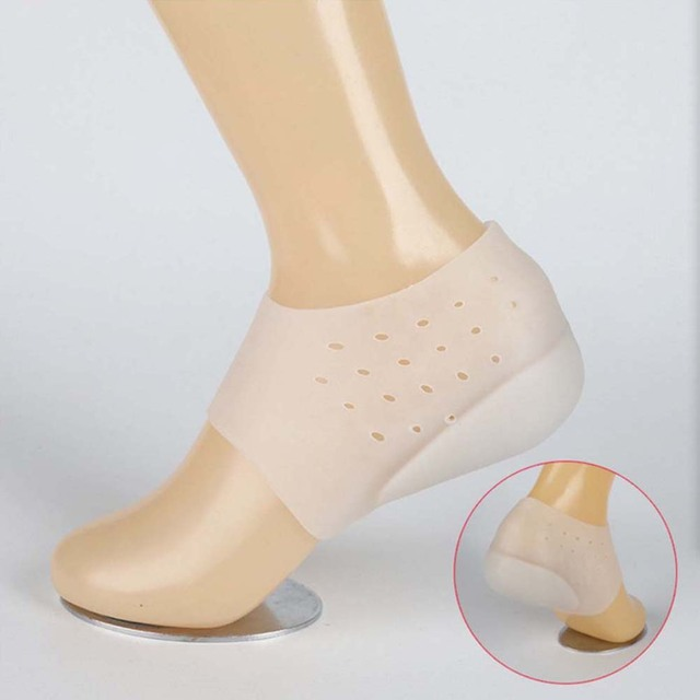 Invisible Height Increase Socks Heel Pads 4