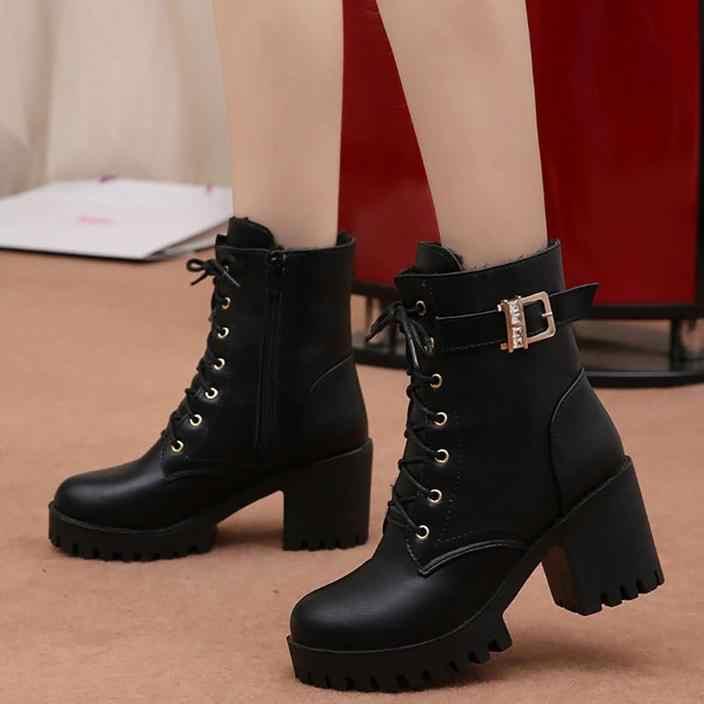 Compre 2020 Botas De Nueva Llegada Zapatos De Diseñador De Moda Zapatos Casuales De Mujer Zapatillas De Piel De Oveja Zapatos De Tacón Alto De Cuero