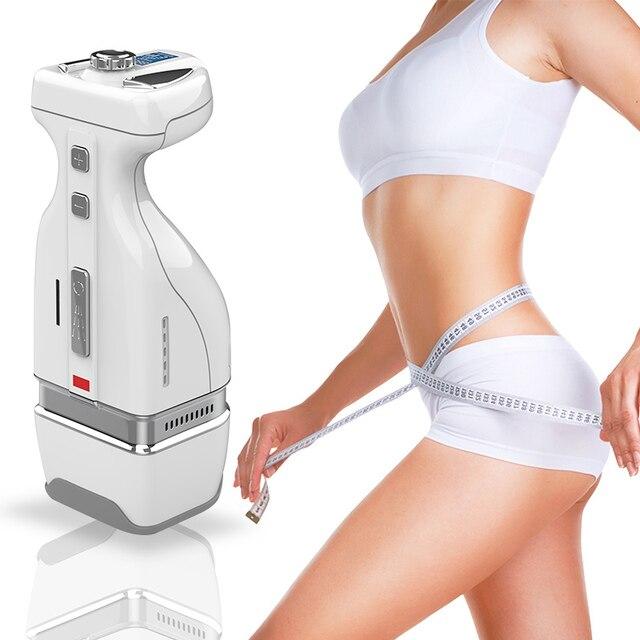 2019 yeni Mini HIFU RF 2IN1 zayıflama vücut göbek yağ kaldırma masajı kullanışlı HelloBody kilo kaybı zayıflama makinesi