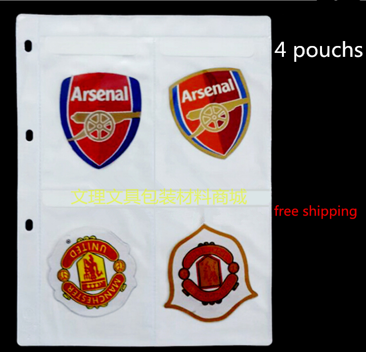 4 Pouches Samples Bag,A4 Multi Sample, Multi Display Bag, A4 Plastic Bag, Free Shipping