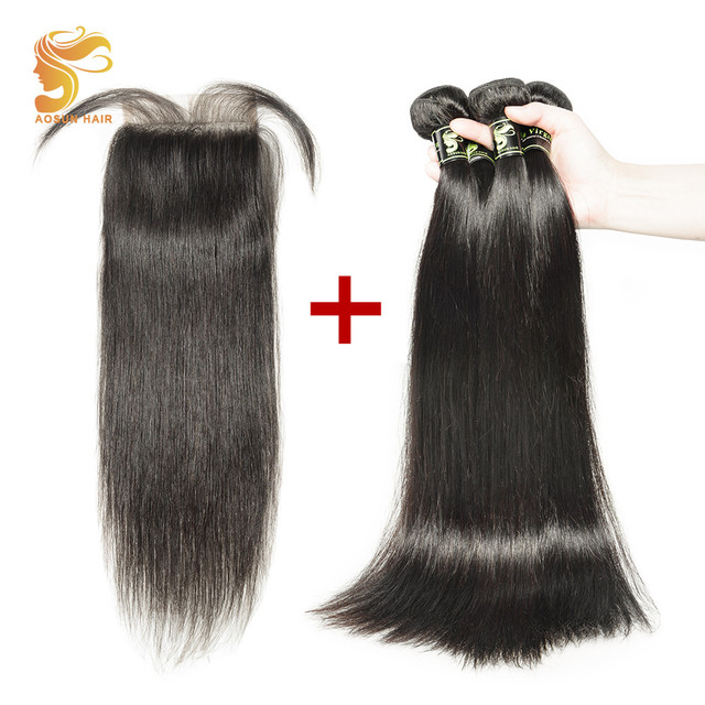 Aliexpress Buy Aosun Hair Remy Hair Extensions Brazilian