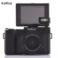 KARUE CDR2 Digital Camera Video Camcorder 3 Inch TFT Screen UV Filter 0 45X Super Wide