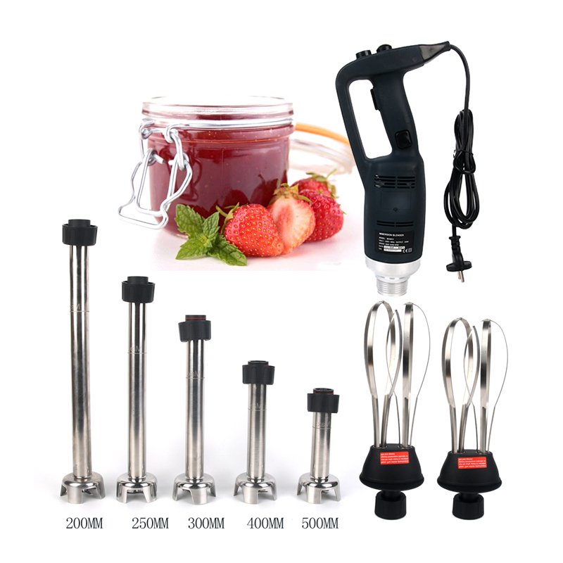 ITOP Handheld Blender 3pcs/set Mixing Machine 1 Blender + 1 Whisk + 1 Tube Stir Stick Stainless Steel Commercial Blender Mixer