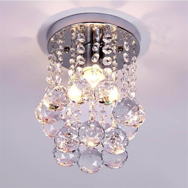Mini Moderne Kristall Kronleuchter Unterputz Regen Tropfen Dekoratives  Licht Für Mädchen Zimmer, Schlafzimmer (