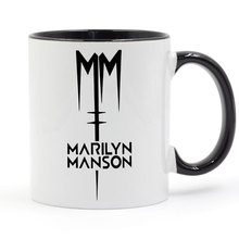 Marilyn Manson Rock Mug Coffee Ceramic Cup Creative DIY Gifts Home Decor Mugs 11oz T1083