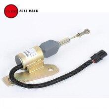 1 шт. Дизель Отсечки Топлива Стоп Электромагнитный Клапан 3991625 для Cummins 5.9L Hyundai 335-7 R210LC-7