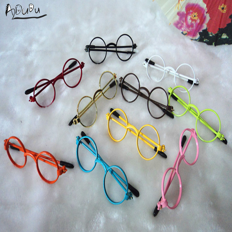 <font><b>Bjd</b></font> doll accessories candy color small <font><b>bjd</b></font> <font><b>glasses</b></font> eyeglasses frame - 1/4 1/6 1/3 blyth sd10 sd16 yosd msd image