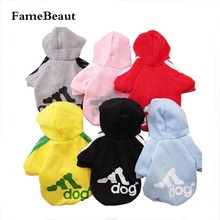Clotheing pets puppy coats leisure pet dog autumn clothing wholesale clothes
