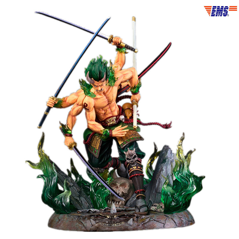 ONE PIECE Cappello di Paglia Pirati Roronoa Zoro Asura Onigumo Statue In Resina Action Figure Collection Model Toy X1025ONE PIECE Cappello di Paglia Pirati Roronoa Zoro Asura Onigumo Statue In Resina Action Figure Collection Model Toy X1025