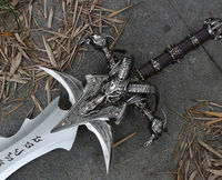 Arthas Menethil sword Frostmourne Alloy casting cool Craft Be a gift Adult toys