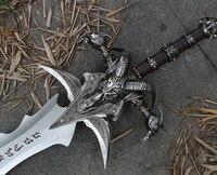 Arthas Menethil schwert Frostmourne Legierung casting kühlen Handwerk Werden ein geschenk Erwachsene spielzeug-in Schwerter aus Heim und Garten bei