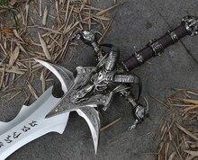 Arthas меч менетила Frostmourne сплав литья Прохладный Ремесло быть подарком игрушки для взрослых