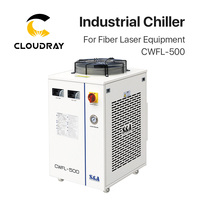 Cloudray S&A CWFL 500AN & 500BN & 500DN Industry Air Water Chiller for Fiber Laser Engraving Cutting Machine