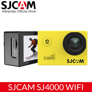 Image 1 - Original SJCAM SJ4000 WiFi Action Camera 2.0 inch Sports DV LCD Screen 1080P HD Diving 30M Waterproof Mini Car Register DVR