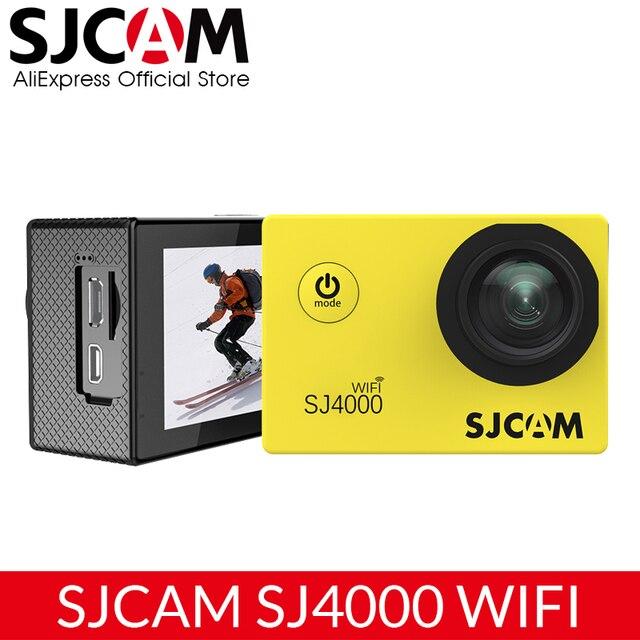 Original SJCAM SJ4000 WiFi Action Camera 2.0 inch Sports DV LCD Screen 1080P HD Diving 30M Waterproof Mini Car Register DVR