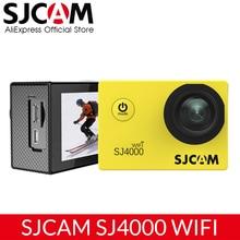 Orijinal SJCAM SJ4000 WiFi eylem kamera 2.0 inç spor DV LCD ekran 1080P HD dalış 30M su geçirmez Mini araba kayıt DVR