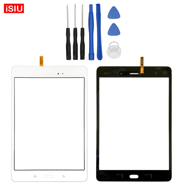 New 8.0 inch For Samsung Galaxy Tab A 8.0 T350 / SM-T350 LCD Touch Screen Lens Glass Outer Front Panel + Tools