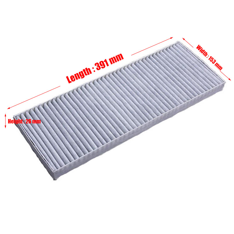 Image 2 - Cabin Filter 1Pcs Fit For Volkswagen Passat B5 Lingyu 1.8 2.0 2.8 Model 2000 2012 Filter Car Accessoris OEM 8A0 819 439 A-in Cabin Filter from Automobiles & Motorcycles