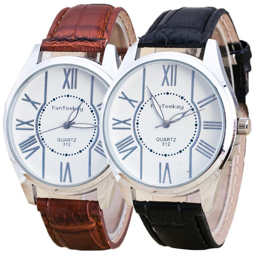2018 fashion watch men Woman Mens Retro Design Alloy Band Analog Alloy Quartz Wrist Watch