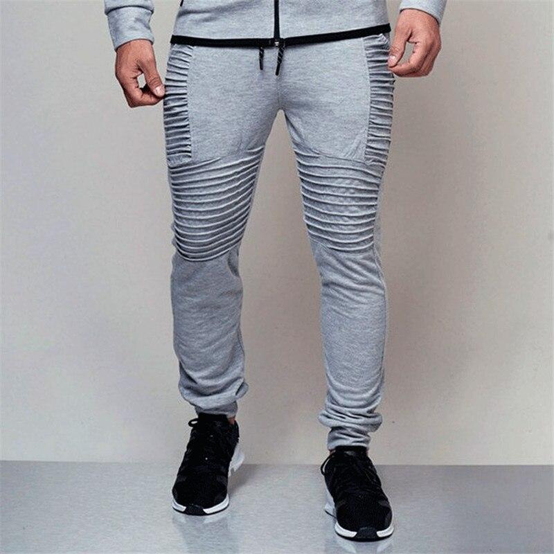 Autumn Winter Men Fitness Pants Slim Sport Jogging Pants Professional Gym Running Tracksuit Trousers