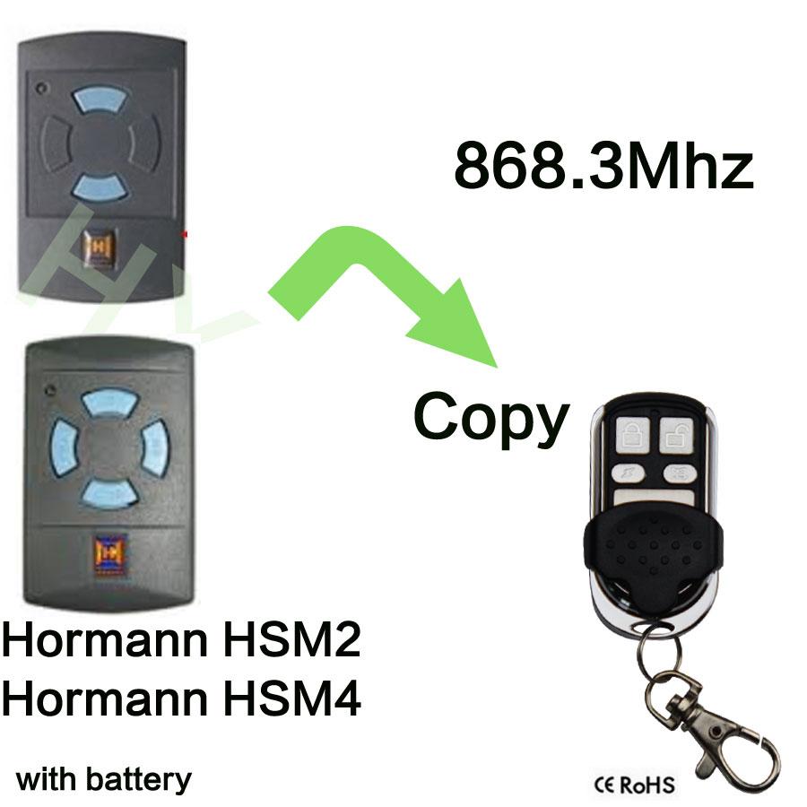 Prix Porte Hormann #8: 868.3 Mhz Porte De Garage Électrique Télécommande Pour Hormann HSM4  Clone(China (Mainland)