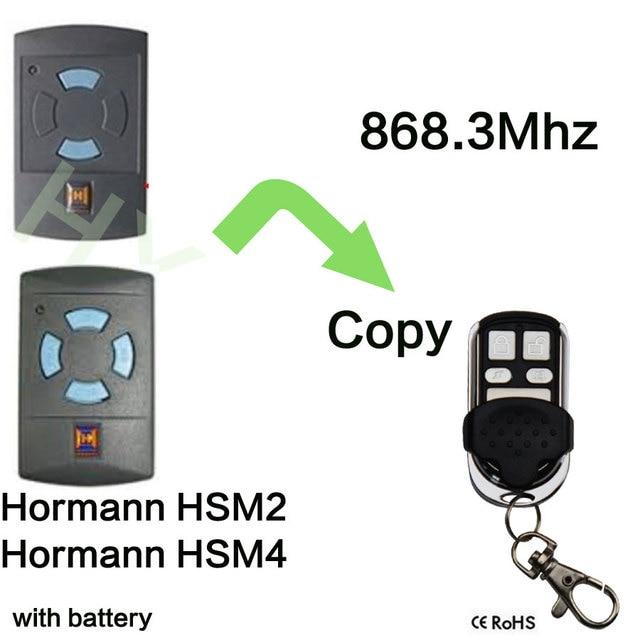 8683mhz Electric Garage Door Remote Control For Hormann Hsm4 Clone