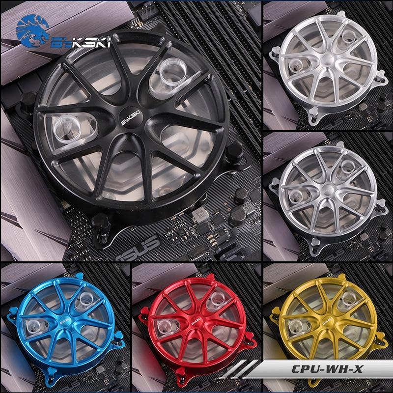 Bykski CPU-WH-X, Wheels CPU Water Block , RBW Wheels Type , For Inter Lga115X 2011 2066 X299 , цена 2017