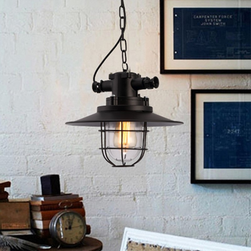 Loft Retro Concise Industrial Style Iron Pendant Lamp Cafe Bar Restaurant Bedroom Parlor Study Decoration Lamp Free Shipping creative concise cement retro industrial style pendant lamp cafe bar restaurant bedroom livingroom decoration lamp free shipping