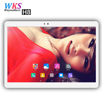 2018 newest 10 inch 4G phone call tablet PC Android 7.0 10 Core 4GB+64GB Dual SIM Cards 1920x1200 IPS wifi Bluetooth tablets pcs
