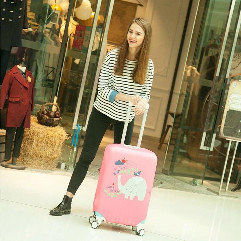 Mænd og kvinder kuffert støvbetræk bagagebetræk passer til 18 til - Rejsetilbehør - Foto 2