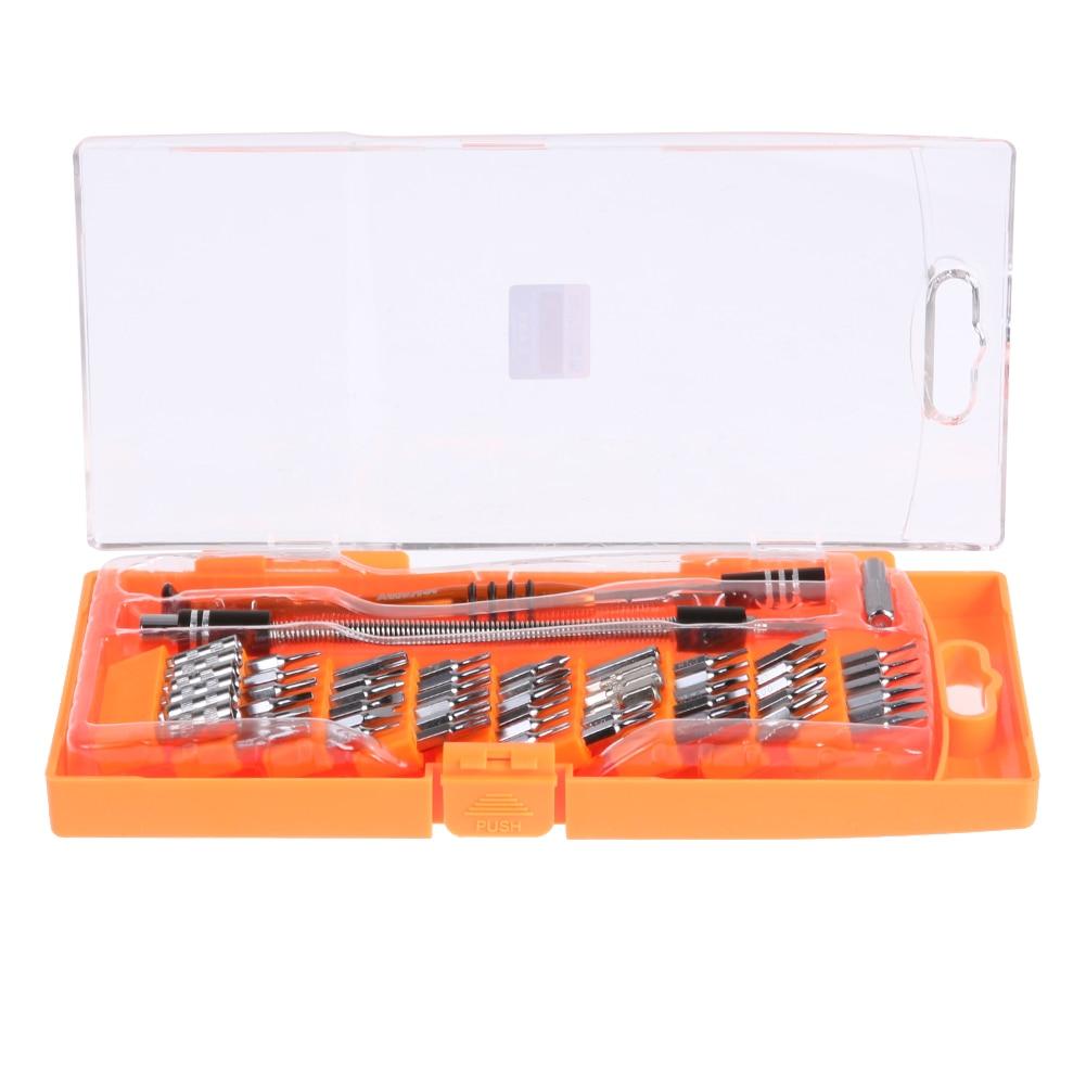 58 in 1 Precision Screwdriver Set Disassemble Repair Kit for iPhone Ipad PC Electronic Maintenance Repair Tool Hand Tool Set
