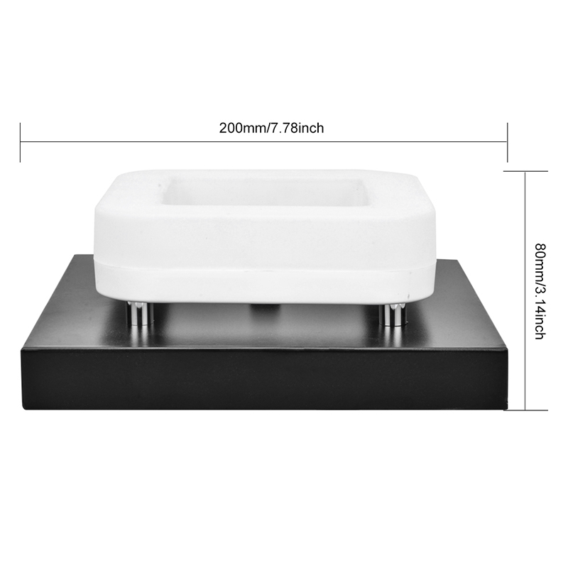 Image 5 - Artpad American 12w Surface Mounted Square Led Ceiling Lights for Hallway Light Porch light Balcony Walkway Ceiling Light China-in Ceiling Lights from Lights & Lighting