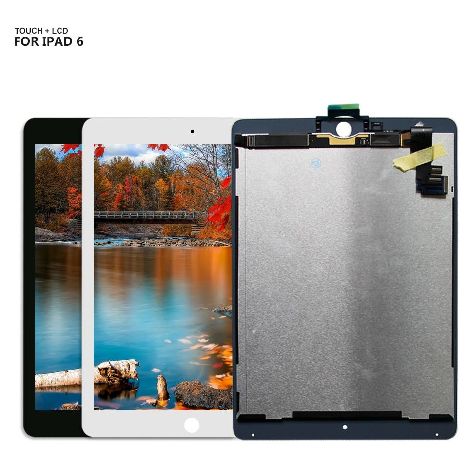 Écran LCD pour ipad Air 2 ipad 6 ipad 6 Air2 A1567 A1566 écran lcd écran tactile numériseur verre livraison gratuite