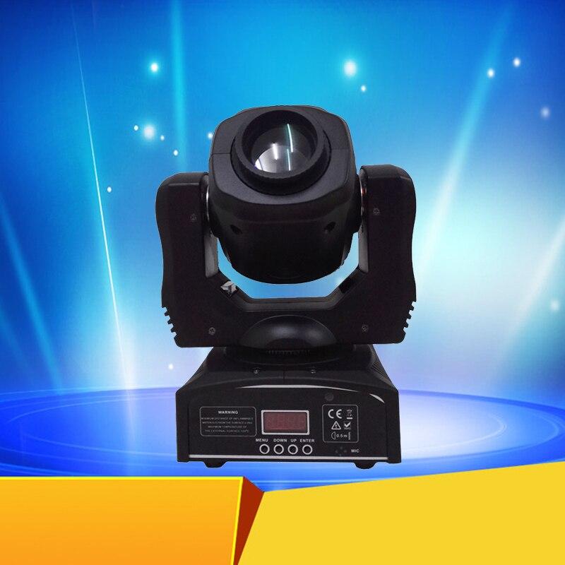 Great Gobo Effect Moving Head 60w LED Moving Head Spot Light DMX512 Control Gobo Light Mini DJ Disco Moving Heads