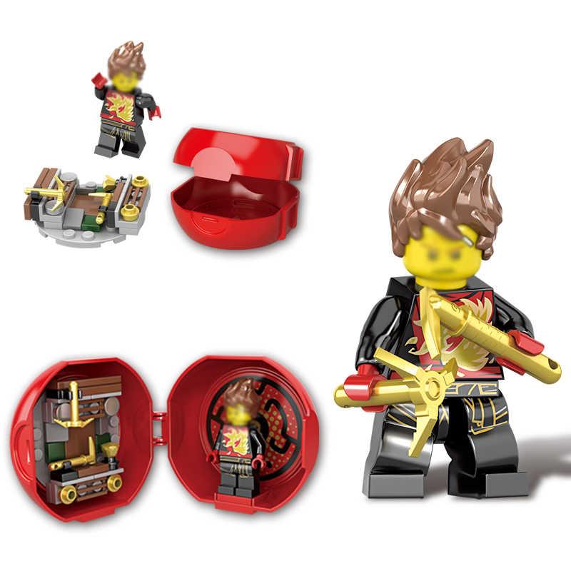 Блоки Джей ния Коул Ллойд Зейн питор мастер строительный блок игрушки совместимый с legoingly Мини фигурки подарки для детей