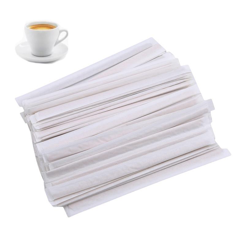 100 Stks/pak Koffie Blender Houten Stok Wegwerp Drank Blender Koffie Tool Kitchen Bar Wegwerp Gereedschap Het Hele Systeem Versterken En Versterken