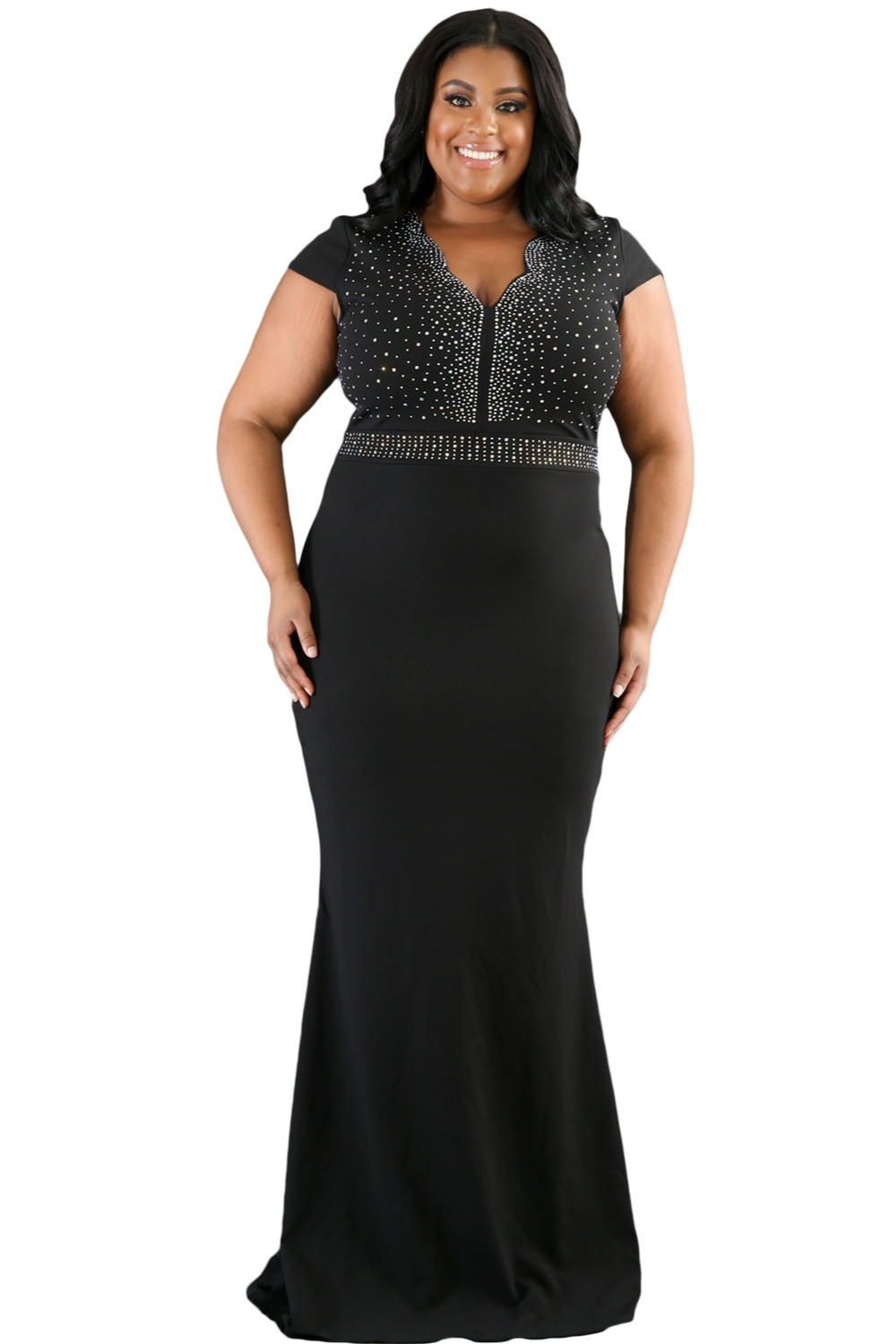 Plus Size Dresses For Wedding Black
