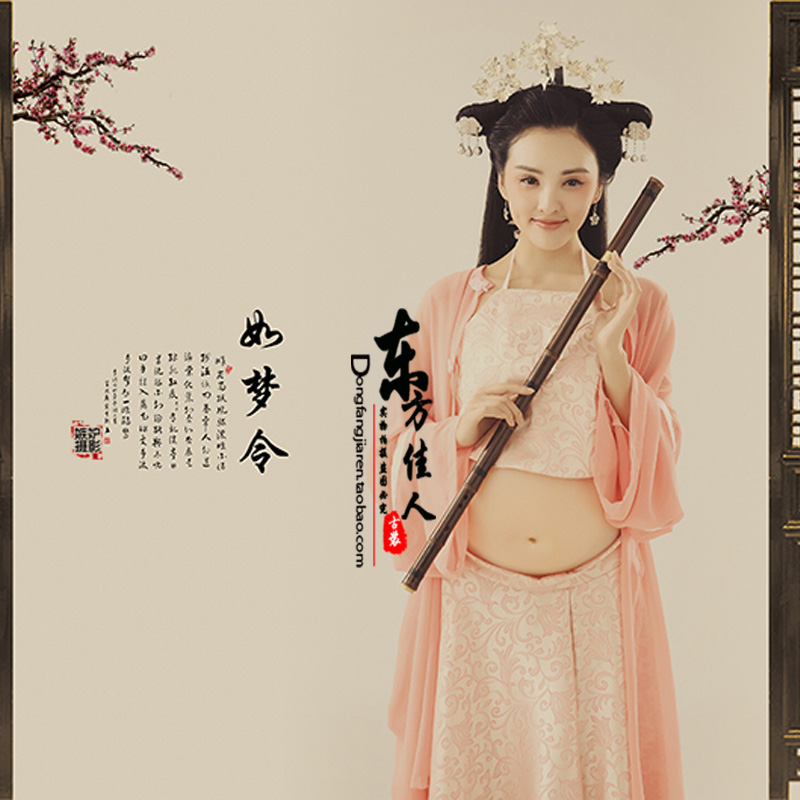 Ru Meng Ling Personality Photography Costume For Pregnant Mummy Thematic Costume Hanfu