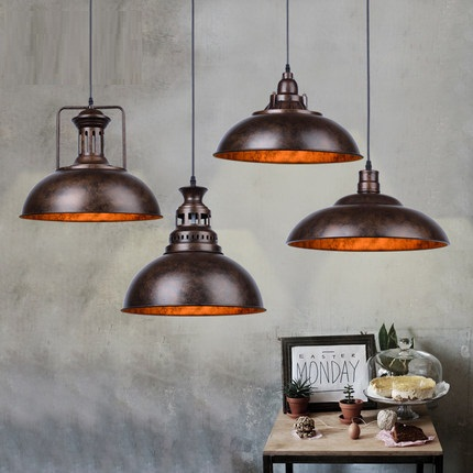 Simple Loft Style Iron Droplight Edison Industrial Vintage Pendant Light Fixtures For Dining Room Hanging Lamp Home Lighting