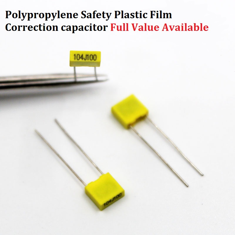 20pcs Polypropylene Film Correction Capacitor 100v 154j