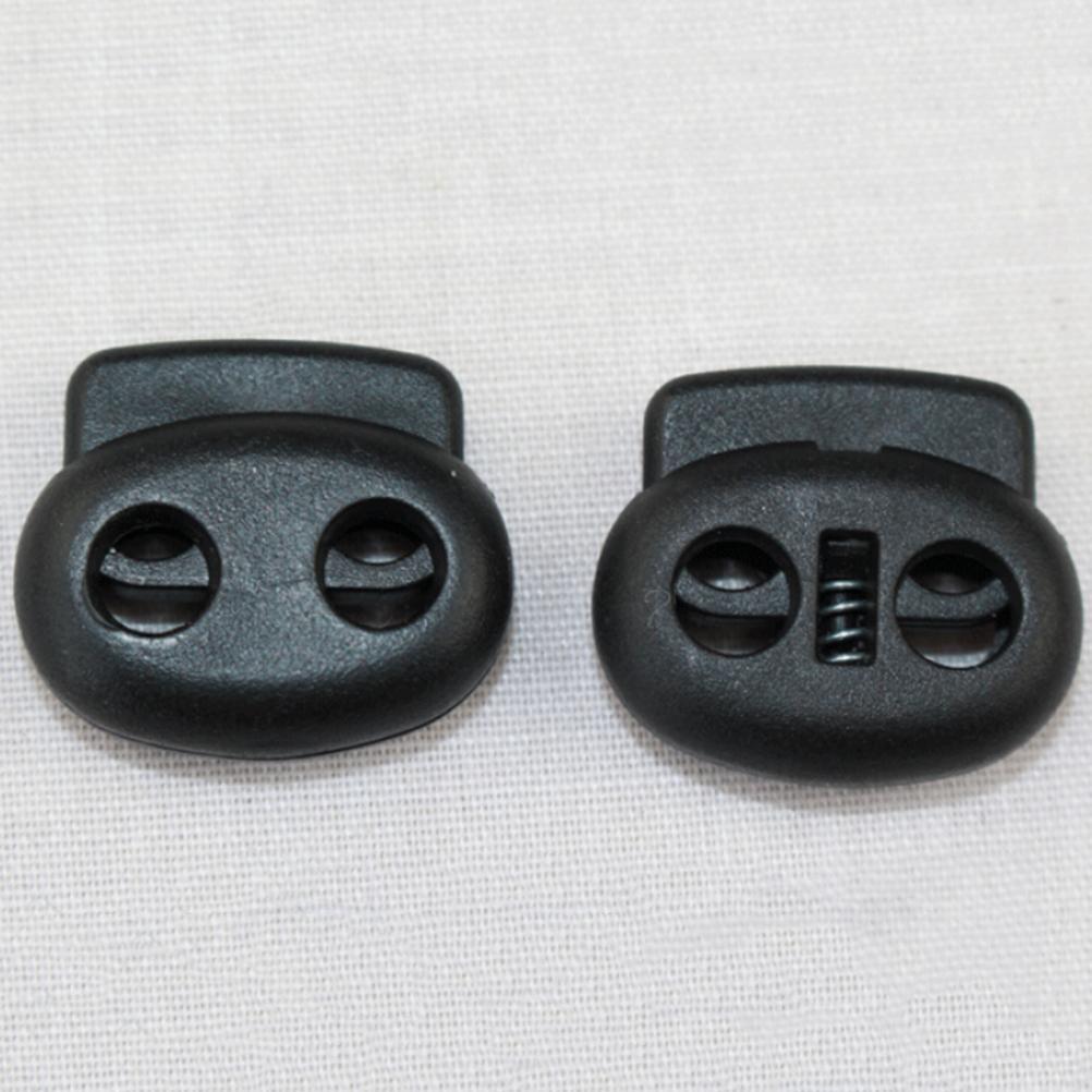 10x Schnürsenkel Schnalle Seilklemme Cord Lock Stopper Running Supplies  X