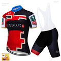 Комплекты спортивной одежды для велоспорта, Джерси для мужчин, летняя одежда для велоспорта, 16D гелевые велосипедные шорты, 2019