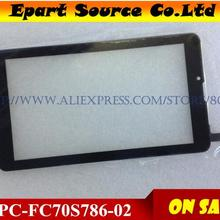 Touch-Screen-Panel Digma Plane 7''protector for HIT 4G LTE HT7074ML Fpc-Fc70s786-00/fpc-Fc70s786-02