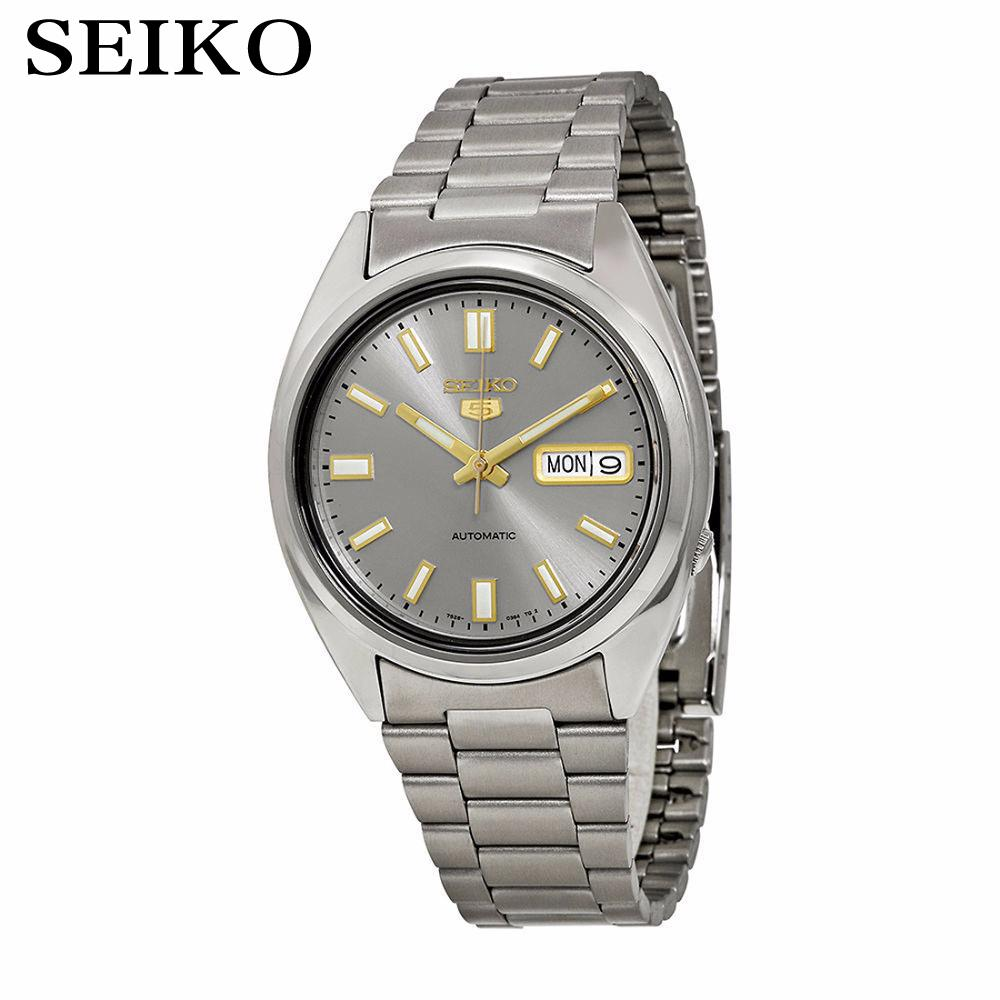 [ pre sale november 11 delivery ] seiko watch seiko 5 automatic sports st aviator 24 jewels men s watch made in japan srp349j1 [ Pre-sale November 11 delivery ] Seiko Watch Seiko 5 Automatic 21 Jewels Grey Dial Watch Men's watch  Made in Japan SNXS75J1
